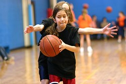 Win a spot for your child at basketball camp