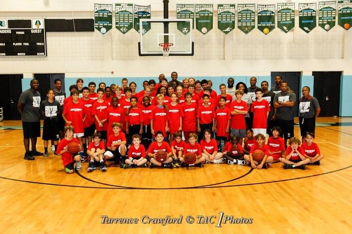 James Jones and friends share basketball, life skills