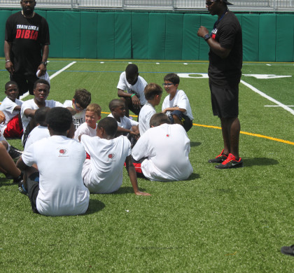 2013 Dibia Football Camp with Desmond Howard